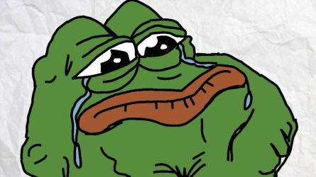 Crying Pepe Art by aidanloewenvideo