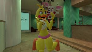 Toy Chica X Mangle by tem06