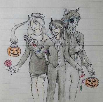 halloween costume (feat. bendy and the ink machine by cheonnamseong