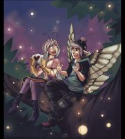 Brave Secret Cupid 2014 - Zenobia and Gustaw by Exarrdian
