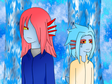 Zin and Nina [Request] by Lilienwald