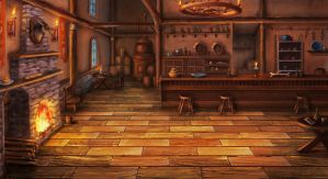 tavern BG by mrainbowwj
