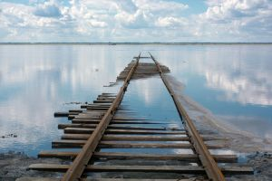Railway To Nowhere (landscape version) by Chunosov