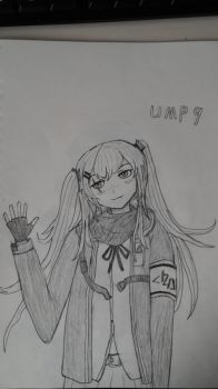 Girl's frontline, UMP9 by sunung0317