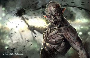 Azog by AngelitaRamos