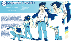 Froaklin Frogadier Reference by Skitea