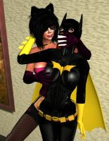 Birds in the Hand: Batgirl Abducted by EthereaS