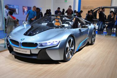 BMW i8 Concept by SnowPinappleYeah