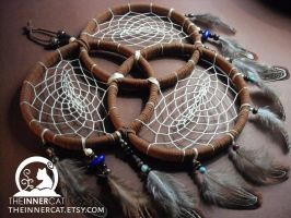 Trinity Dream Catcher by TheInnerCat