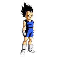 Vegeta Jr. by Dark-Crawler