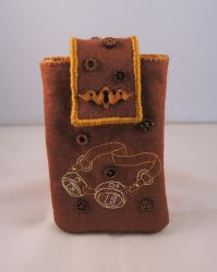 Steampunk Phone Case 2 by VickitoriaEmbroidery