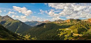 Over The Mountains by IngoSchobert