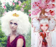 Queen of the Apple Tree by maliciousmakeup