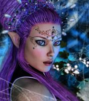 Queen of the mystic forrest by Lexana