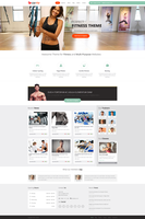 Get Fit Homepage by NiravJoshi