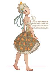 Character Design - Baroque Aristocracy Summer 02 by MeoMai