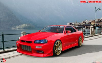 R34 Red Devil ll CaponeDesign by CaponeDesign