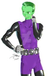 Beast Boy by STRiPES-01