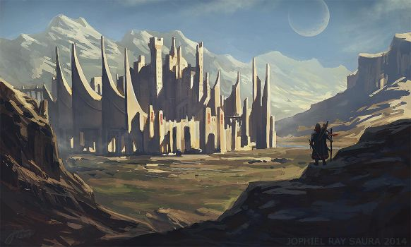 The City of Swords by JophielS