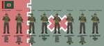Principality of Veurido - Infantry Squad by hydraulicoilman