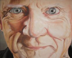 Malcolm McDowell by Synbag