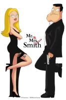 Mr. and Mrs S. Smith by Pikamine