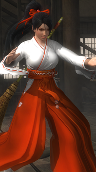 Momiji - Shrine Maiden DLC by asamiya-kof