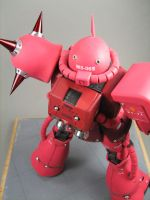 Char's Zaku II Back Top by GameraBaenre