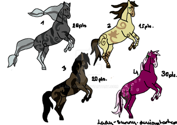 [open] very cheap Horse adopts price lowed[8 pts.] by Lady-Sunny