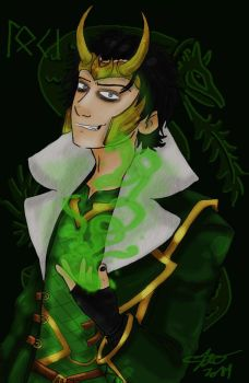 Loki Agent of Asgard by irishimo