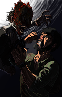 Joel and Clicker by TheEvisceration