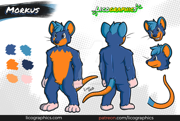 Character reference: Morkus by LicosAragon