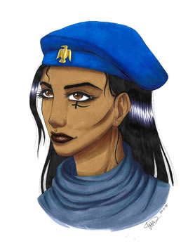 Young Ana by MangaAnimeLover