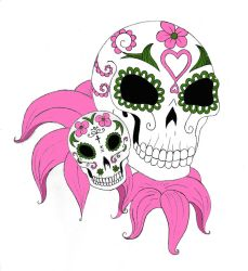 Skull Tats by Lady-of-Slaughter