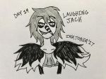 Inktober Day 14- Laughing Jack by Revenir-Ghoul