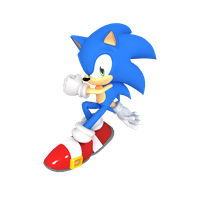Sonic S (Reupload) by Cyberphonic4D