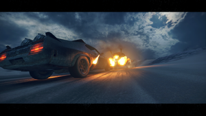 Mad Max interceptor by JSMRACECAR03