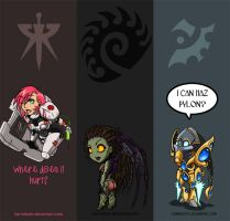 Starcraft Bookmarks by baenling