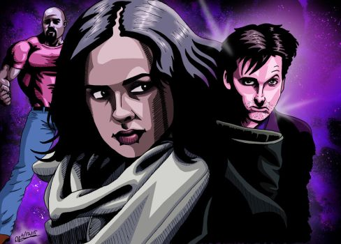 Jessica Jones by deanfenechanimations