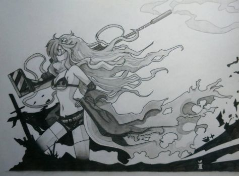 Yoko gurren lagann  by mr-fower