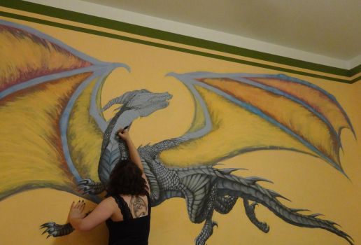 Wall painting by Dragonwinger