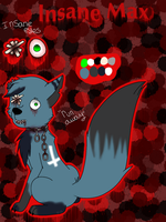 Cp oc-Insane Max by Pinkwolfly