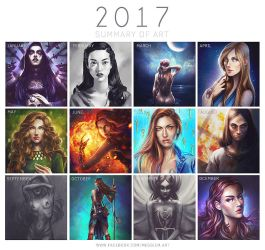 Summary-of-art-meggie-2017 Small by Meggie-M