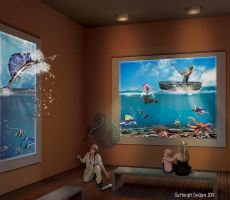 Museum of Natural Fishery by cluttergirl
