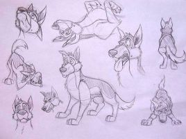 Some sketches of Charlie by ZSnet
