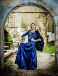 Early Medieval Dress by LadyAutumnIvy