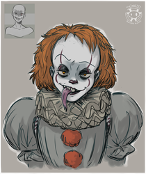 Expression Challenge - Forked Tongue Pennywise by Twime777