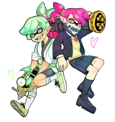 Guess who has Splatoon by AokiBrooks