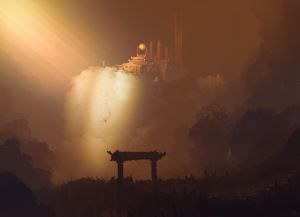 Temple by Sergey-Lesiuk