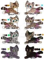 Bengal Cat Adopts OPEN by leafstep